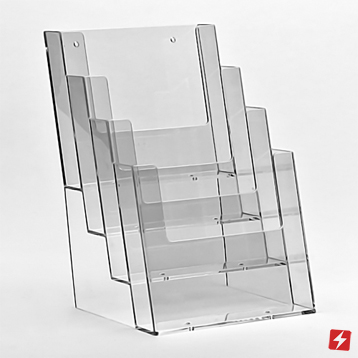 Tiered Leaflet Dispensers