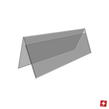 Single Side Tent Card Holder