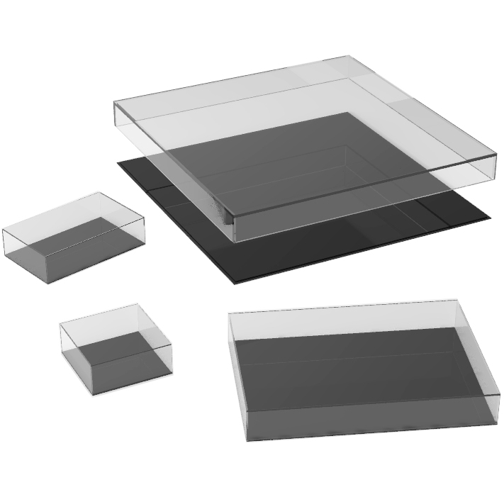 Flat Display Cases