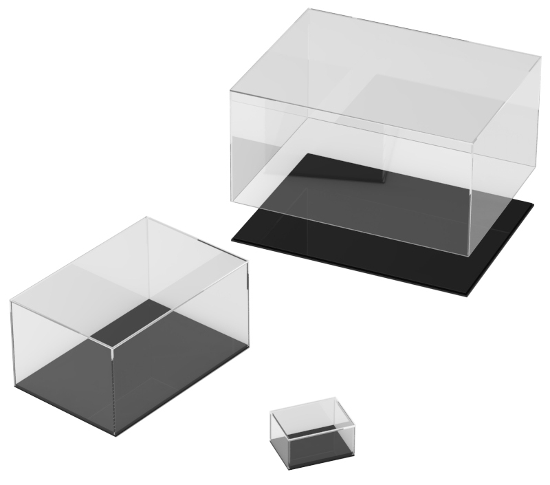 Oblong Display Cases
