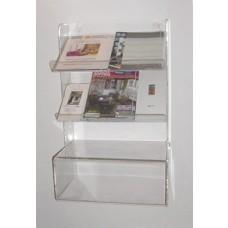 Acrylic Brochure Unit