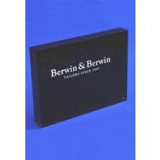 Acrylic Block Printed B & B Black