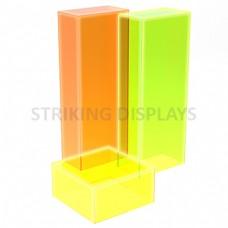 Fluorescent Acrylic Plinths