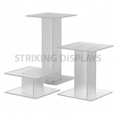 Clear Acrylic Tube Pedestals