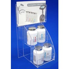 Clear Acrylic Product & Info Unit
