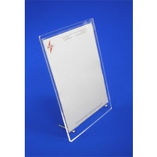 Acrylic Card Holder Flat Pack
