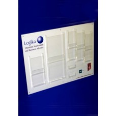 Acrylic Panel Literature Dispenser
