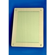 Wall Mount Mirror Back Card Holder