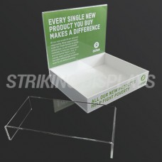Oxfam Flat Pack Counter Display