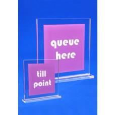 Acrylic Sign Laminated