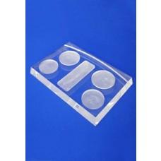 Acrylic Block With Product Wells