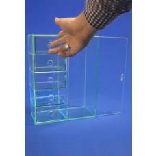 Silicone Acrylic Drawer Unit