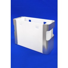 Silver Acrylic Ended File Unit