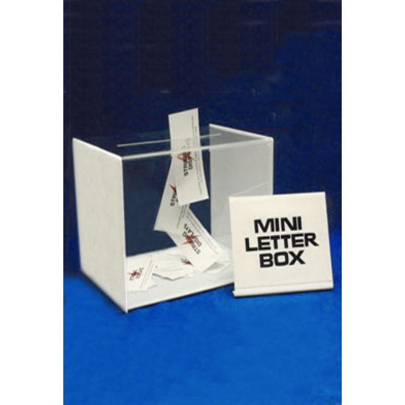 Acrylic Box Letter Making : Acrylic mini letter box