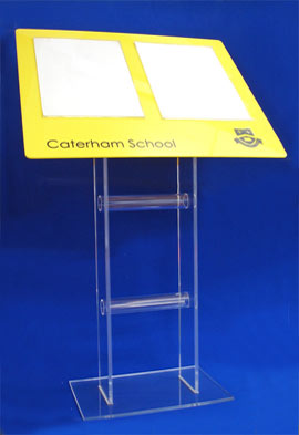 Free Standing Estate Agent Displays