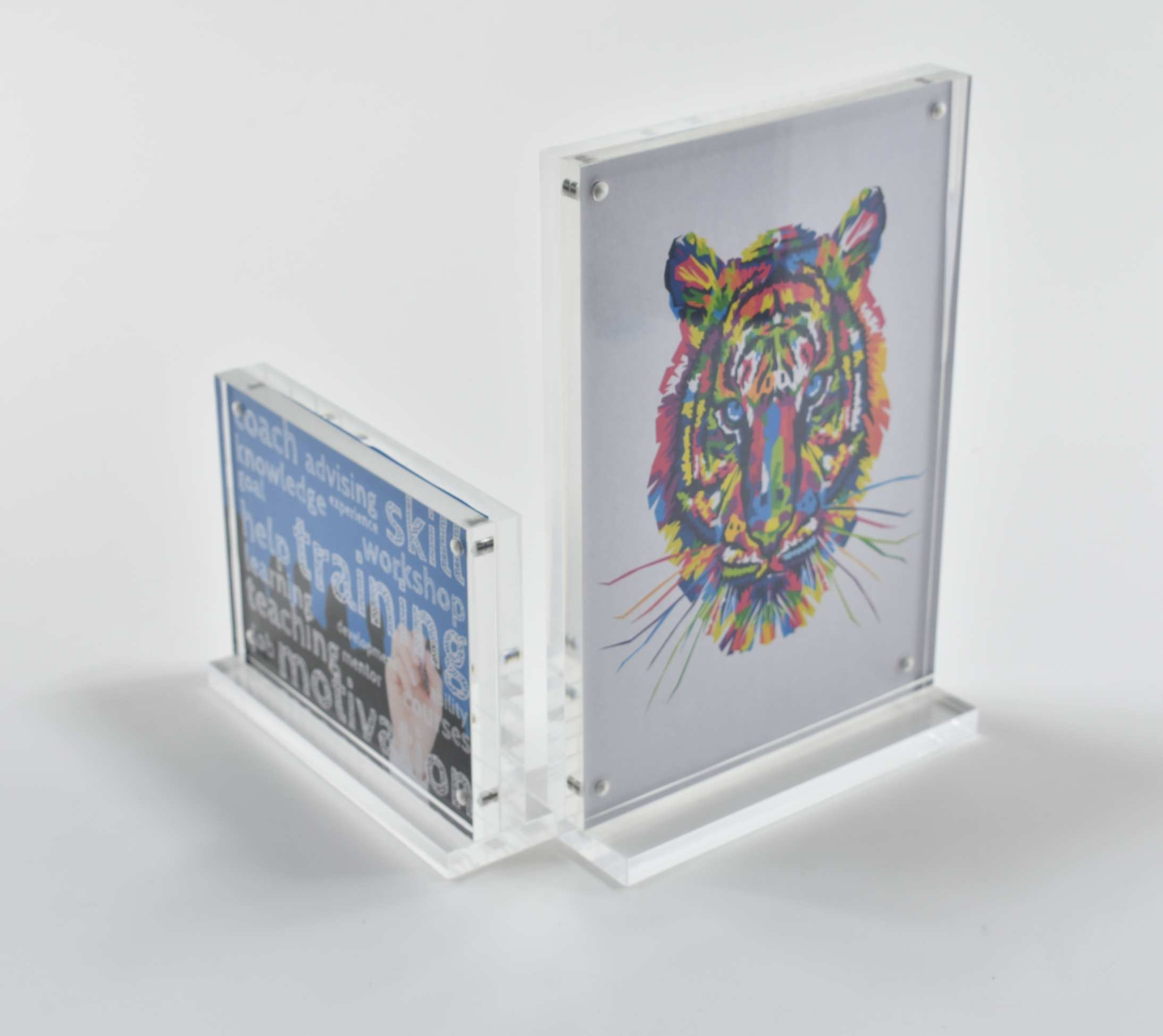 Magnetic Acrylic Card Holder