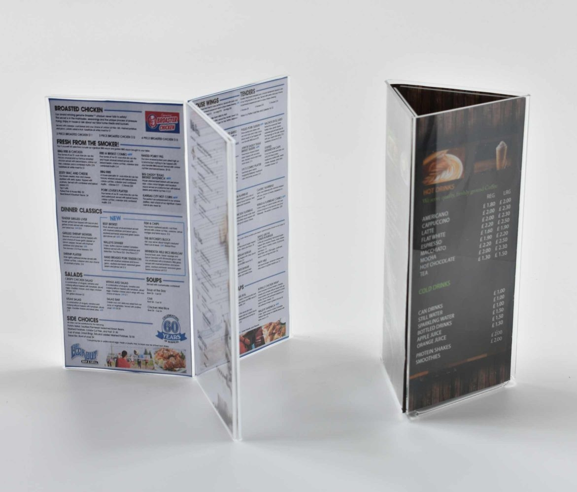 Menu Card Stands