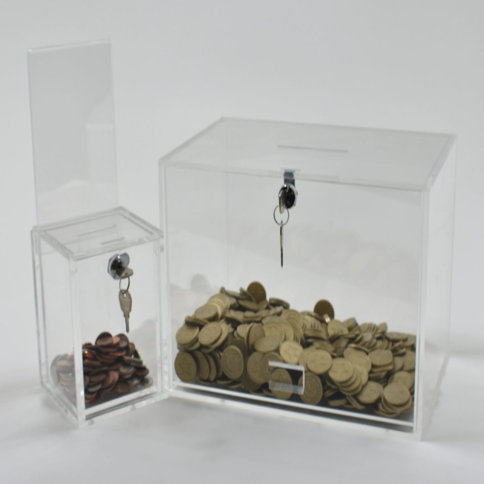Token & Money Collection Box Range