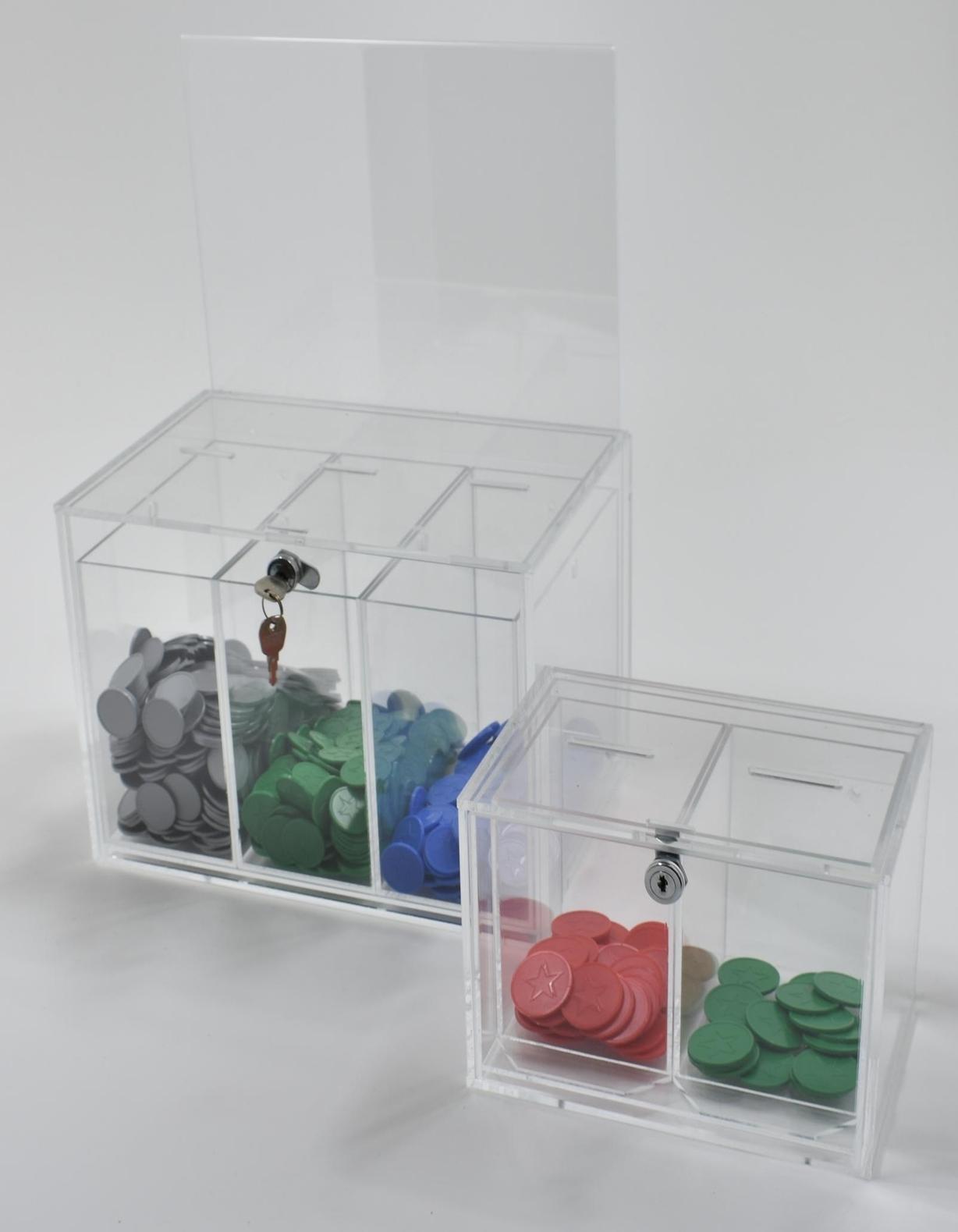 Token Collector Boxes