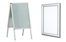 Aluminium Clip Grip Frames
