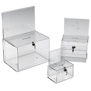 Token & Money Collection Box Range