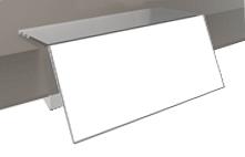 PVC Shelf Edger