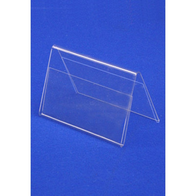 PVC Tent Card Holders DS Other PVC Products PVC Shelf Edger - Table tent card holders