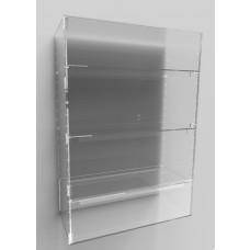 Acrylic Display Cabinet 1000 x 700 x 300 Adjustable Shelving