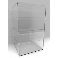 Acrylic Display Cabinet 1000 x 600² Fixed Shelving