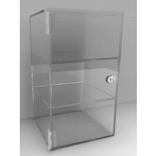 Acrylic Display Cabinet 350 X 200² Fixed shelving