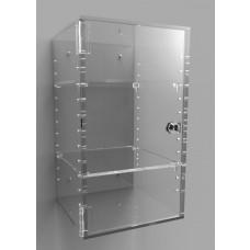 Acrylic Display Cabinet 350 X 200² Adjustable Shelving