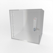 Acrylic Lockable Safe