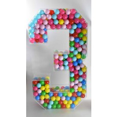 Acrylic Special Occasion Numbers