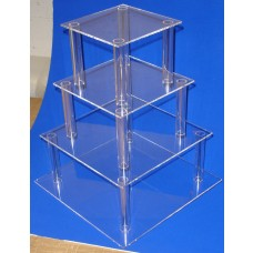 Tiered Shot Glass Stand/ Tea Cake Stand