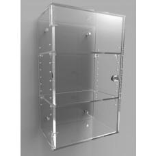 Acrylic Display Cabinet 400 x 250 x 150 Adjustable Shelving