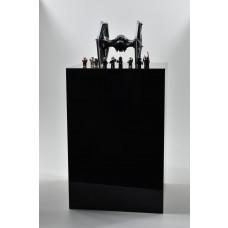 Acrylic Pedestal 400mm²