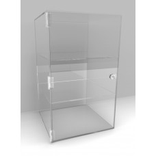 Acrylic Display Cabinet 650 x 400² Fixed Shelving