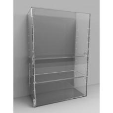 Acrylic Display Cabinet 500 x 300 x 150 Adjustable Shelving