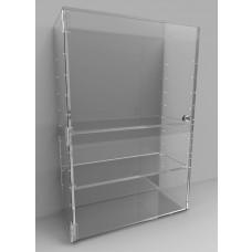 Acrylic Display Cabinet 600 x 400 x 175 Adjustable Shelving