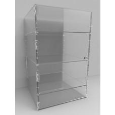 Acrylic Display Cabinet 500 x 300sq Adjustable Shelving