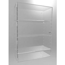 Acrylic Display Cabinet 700 x 500 x 200 Adjustable Shelving
