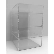 Acrylic Display Cabinet 800 x 500² Adjustable Shelving