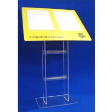 Acrylic Poster Panel Stand