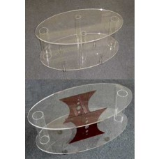 Acrylic Oval Coffee Tables