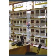 Window Display Rod & Bar System