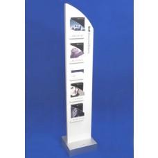 Gloss Foamed PVC Totem