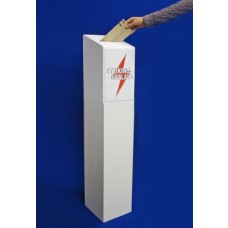 Ballot Box On Foamed PVC Stand