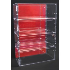 Acrylic Cabinet Coloured Back