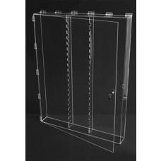 Clear Acrylic Wall Cabinet Locking