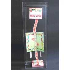 Clear Acrylic Case Advert Puppet
